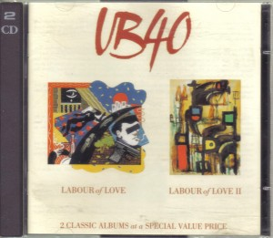 UB40 ‎– Labour Of Love / Labour Of Love II  2CD