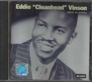 "Eddie ""Cleanhead"" Vinson - Back in Town - CD"