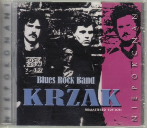 Krzak - Blues Rock Band Niepokonani  CD