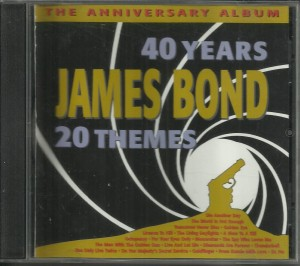 40 Years James Bond 20 Themes - CD