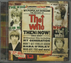 The Who ‎– Then And Now CD